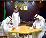 لجنة التنمية بعين بن فهيد توقع عقد شراكه مجتمعيه مع مكتب التعليم بالأسياح الاسياح