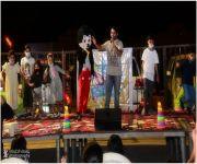 مسرح الطفل يجذب أنظار زوار مهرجان الرمان الرابع بالشيحية