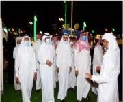 محافظ الرس وعقلة الصقور يزوران مهرجان رمان القصيم الرابع بالشيحية