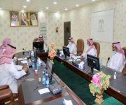 محافظ النبهانية يرأس إجتماع لجنة التعديات على الأراضي الحكومية