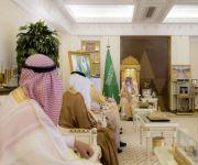 سمو أمير منطقة القصيم يستقبل عدد من محافظي المحافظات بعد تكليفهم الجديد