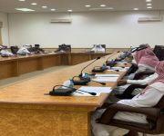 لجنة الدفاع المدني الفرعية بمحافظة الاسياح تعقد إجتماعاً