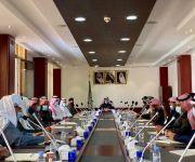 محافظ البكيرية يرأس الاجتماع الدوري للجهات الحكومية