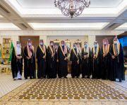 سمو أمير منطقة القصيم يلتقي رئيس وأهالي مركز دخنة