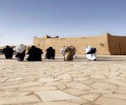 واصفتها بالكنز التاريخي.. غادة بنت عبدالرحمن تزور بلدة الخبراء التراثية