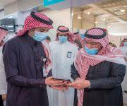 سمو أمير القصيم يبادر بالتسجيل في تطبيق صحتي للحصول على لقاح كورونا