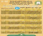 القصيم : فرع وزارة الشؤون الإسلامية والدعوة والإرشاد بالمنطقة ينظم برنامج علمي بعنوان (فقه الأذان والإقامة )