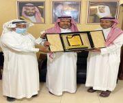 تكريم الكابتن / صالح بن سعد القاسم