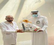 وحدة الخدمات المساندة للاشخاص ذوي الاعاقة بعنيزة تكرم الدكتور حمدي محمد عياد