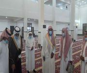 مدير عام فرع وزارة الشؤون الإسلامية بالمدينة المنورة يتفقد إدارة ومساجد محافظة ينبع
