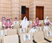 الخميس: قادة هذه البلد جعلوا الاهتمام بكتاب الله في مقدمة أولوياتهم   انطلاق فعاليات المسابقة المحلية على جائزة خادم الحرمين المحلية لحفظ القرآن الكريم