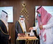 سمو أمير القصيم يرعى حفل تخريج 103 طالب وطالبة من خريجي جامعة المستقبل