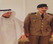 عبدالمجيد  السبيعي يتلقى التهاني بتخرجه ملازماً أولاً من كلية الملك فهد الأمنية