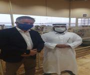 سفير الاتحاد الأوروبي يزور مستشفى سلام للإبل