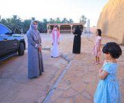 الأميرة هند بنت عبدالرحمن تزور البكيرية وتطلع على معالمها التراثية والتنموية