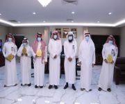 فضيلة الشيخ العتيبي يكرم مدير إدارة مساجد المدينة المنورة
