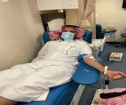 مبادرة وحدة الحماية الأسرية بالقصيم للتبرع بالدم
