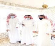 جمعية واحة الوفاء لمسانده كبار السن تزور دار الرعاية الاجتماعية وتسلم بطاقات وفاء لجميع النزلاء