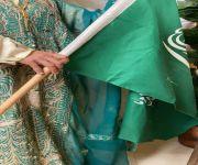 مركز الأميرة نورة الاجتماعي يحتفل باليوم الوطني السعودي 91