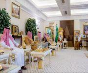 سمو أمير منطقة القصيم يستقبل سمو نائب رئيس المنظمة الدولية للإبل