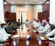 محافظ البكيرية يرأس اجتماع اللجنة الرئيسة للسلامة المرورية