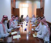 محافظ البكيرية يرأس إجتماع اللجنة الفرعية للدفاع المدني